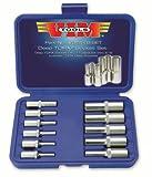 vim tools - VIM Tools VDE418 11-Piece Deep Torx Socket Set