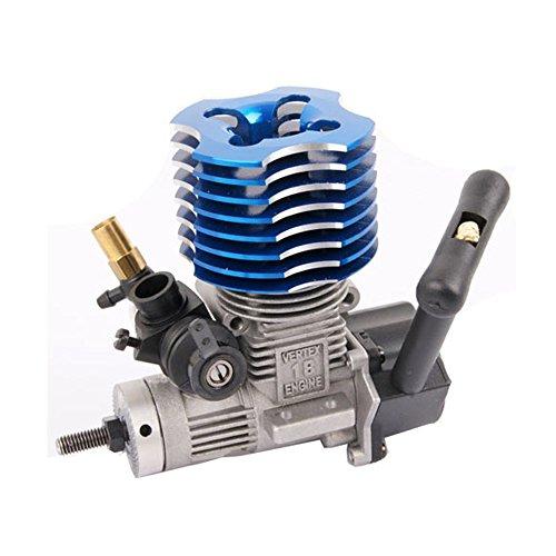 Car Parts Nitro Rc Truck (VX18 Nitro Methanol Vertex Engine For 1/10 HSP Atomic HPI RC Car Truck)