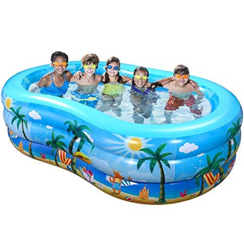 🥇 iBaseToy Inflatable Swimming Pool