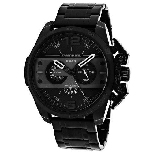 - Diesel Men's DZ4362 Ironside Black Ion-Plated Stainless Steel Watch