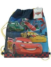 "Cars Lightning McQueen Drawstring Sling Bag, Size 14"" X 11"""