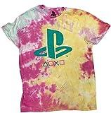 bioworld Playstation - Logo Dye-Tyed Tee - Teal