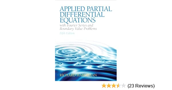 Amazon applied partial differential equations with fourier amazon applied partial differential equations with fourier series and boundary value problems featured titles for partial differential equations fandeluxe