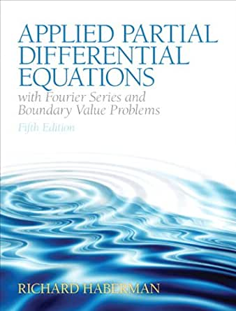 Applied Partial Differential Equations Haberman 5th Edition Pdf