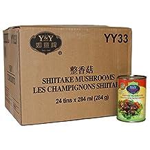 Y&Y YY33 Shiitake Mushrooms, 6816-Milliliter