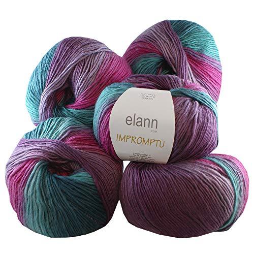 elann Impromptu Yarn | 5 Ball Bag | 607 Aurora Borealis