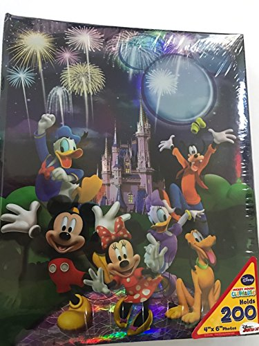 Castle Photo - Disney Mickey Mouse Castle Sweet Memories 200 Picture Photo Album 4x6