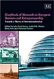 Handbook of Research on European Business and Entrepreneurship, , 1845425014