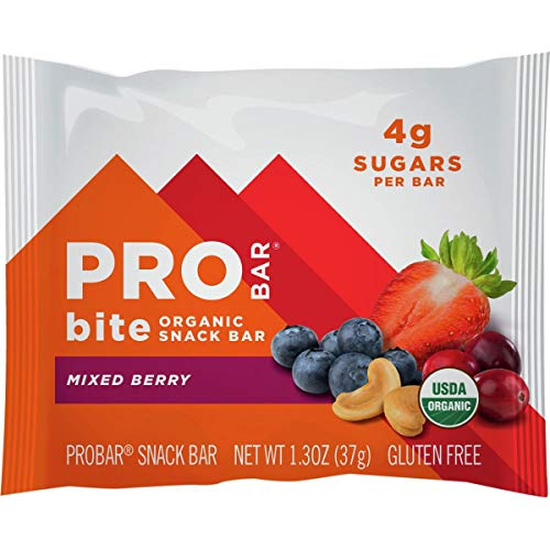 ProBar Bite Bar – 12-Pack Mixed Berry, One Size
