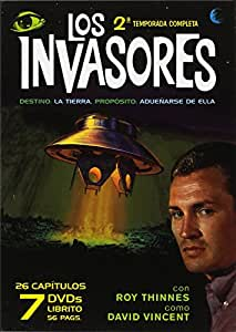 Los Invasores - Segunda Temporada Completa (7 Dvd Pack)