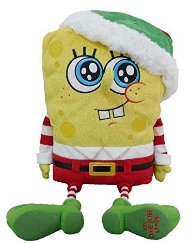 Macy's SpongeBob SquarePants TALKING Christmas Plush ,#G14E6GE4R-GE 4-TEW6W220630 by Tinflyphy