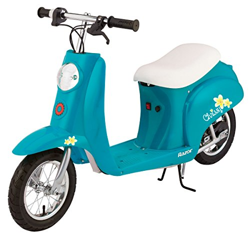 Purchase low price Razor Pocket Mod Electric Scooter, Chrissy Turquoise