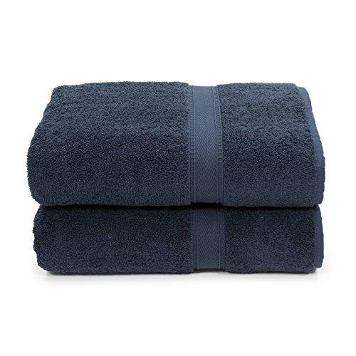 Linum Home Textiles SN50-2BT Bath Towel, Navy by Linum Home Textiles