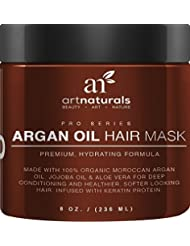 Art Naturals Argan Oil Hair Mask,Deep Conditioner 8...