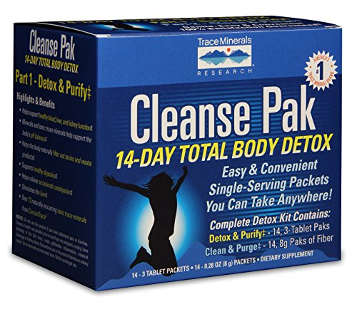 Cleanse Pak 14-Day Total Body Detox, Kit by Trace Minerals