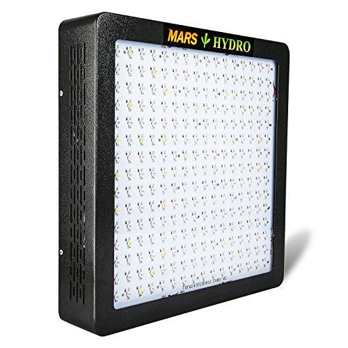 mars hydro MARSII 1200W Led Grow Light Full Spectrum High Penentration Led Grow Lamp the 490w±5% True Watt Panel Light Lighting With Dual Veg Flower Spectrum - Mars 2 Led Grow Light 900w