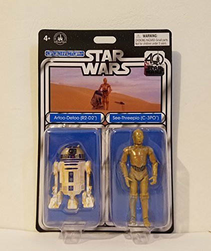 Disney Parks Star Wars 40th Anniversary 2017 Droid Factory R2-D2 & C-3PO 2-Pack