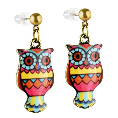 Multicolored Pattern Earrings Stailess Earrins product image
