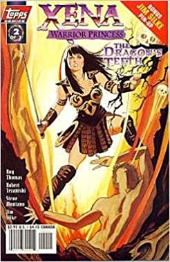 Xena Warrior Princess The Dragons Teeth 2 Art Cover Roy Thomas
