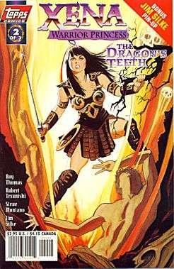 Download Xena: Warrior Princess The Dragons Teeth book pdf