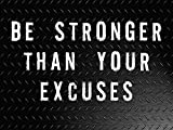 Workout Poster Bodybuilding Poster Fitness Poster 27×40