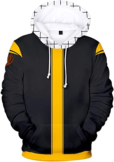 fairy tail Natsu Cosplay Anime Kapuzen Sweatshirt Hoodie pullover Pulli Jacke