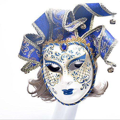 Venice Carnival Costumes (Venice Masquerade Carnival Mask Luxury Halloween Christmas Dancing Party Exquisite Mask)