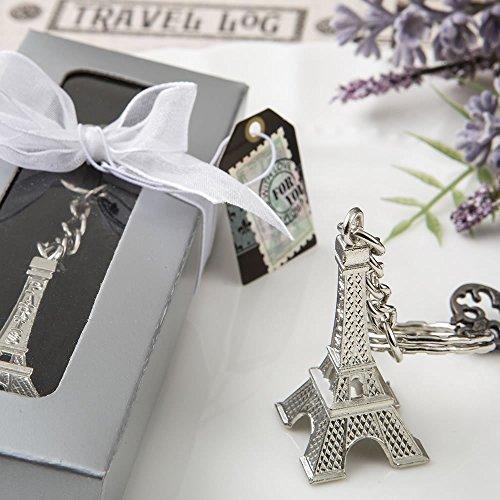 Eiffel Tower Key Chain Favors ()