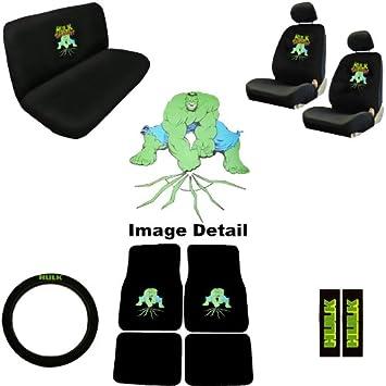 The Incredible Hulk Marvel Comics Auto Accessories Interior Combo Kit Gift Set