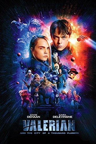 Valerian Movie Poster 24in x 36in