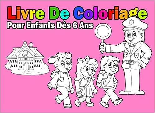 Livre De Coloriage Pour Enfants Des 6 Ans Pour Les Filles