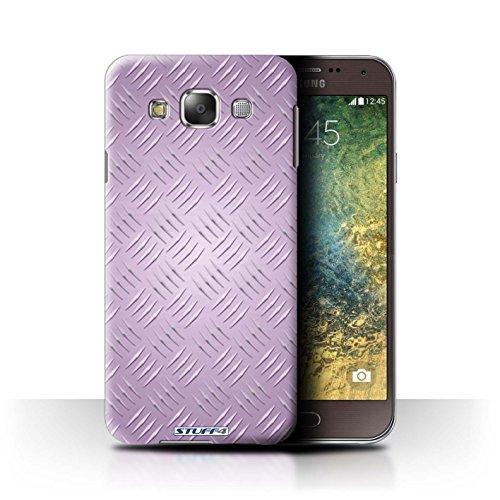 Coque de Stuff4 / Coque pour Samsung Galaxy E5/E500 / Rose Design / Motif en Métal en Relief Collection