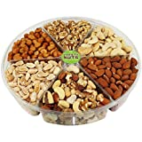 Premium Gourmet Nuts Assorted Healthy Gift Basket, Large Tray Fresh and Roasted.