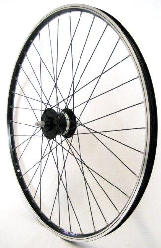 28 Zoll Fahrrad Laufrad Vorderrad Shimano Dynamo DH3N20 schwarz