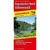 Bayerischer Wald - Böhmerwald: Motorradkarte mit Ausflugszielen, Einkehr- und Freizeittipps und Tourenvorschlägen, wetterfest, reißfest, abwischbar, GPS-genau: 1:200000 (Motorradkarte / MK)