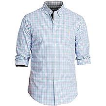 Polo Ralph Lauren Men's Long Sleeve Poplin Stretch Classic Fit Shirt