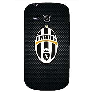 Samsung Galaxy S3 mini Case Cover,Logo Juventus FC Logo Phone Case,Protectiver Phone Case Cover For Samsung Galaxy S3 mini