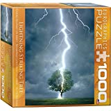 eurographics lighting striking tree 1000 piece puzzle toys games. Black Bedroom Furniture Sets. Home Design Ideas