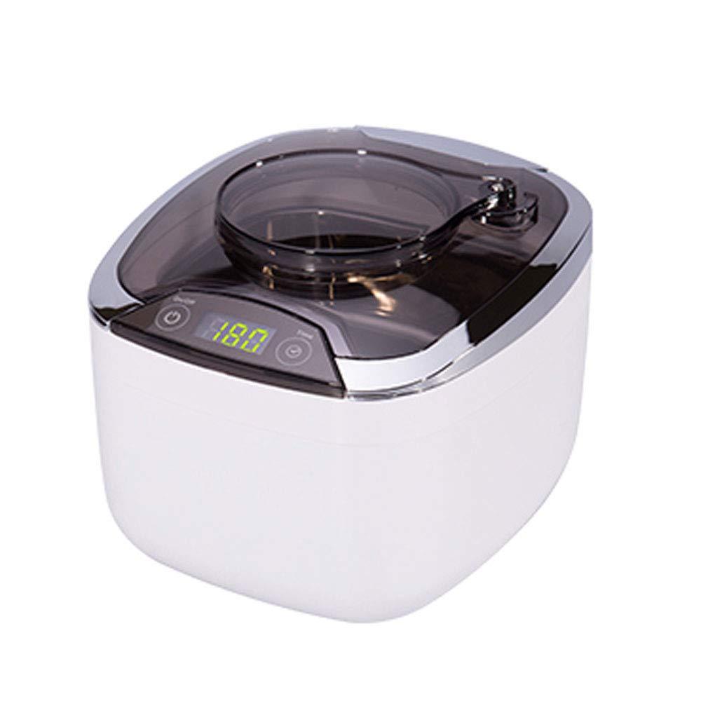 ダイヤモンド、眼鏡、サングラス、義歯、リングに適した870ML超音波洗浄機、大容量デジタルタイミング、冷却ファン付き。 B07JJQWDC4