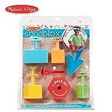 Melissa & Doug Sandblox Sand Shape-and-Mold Tool Set