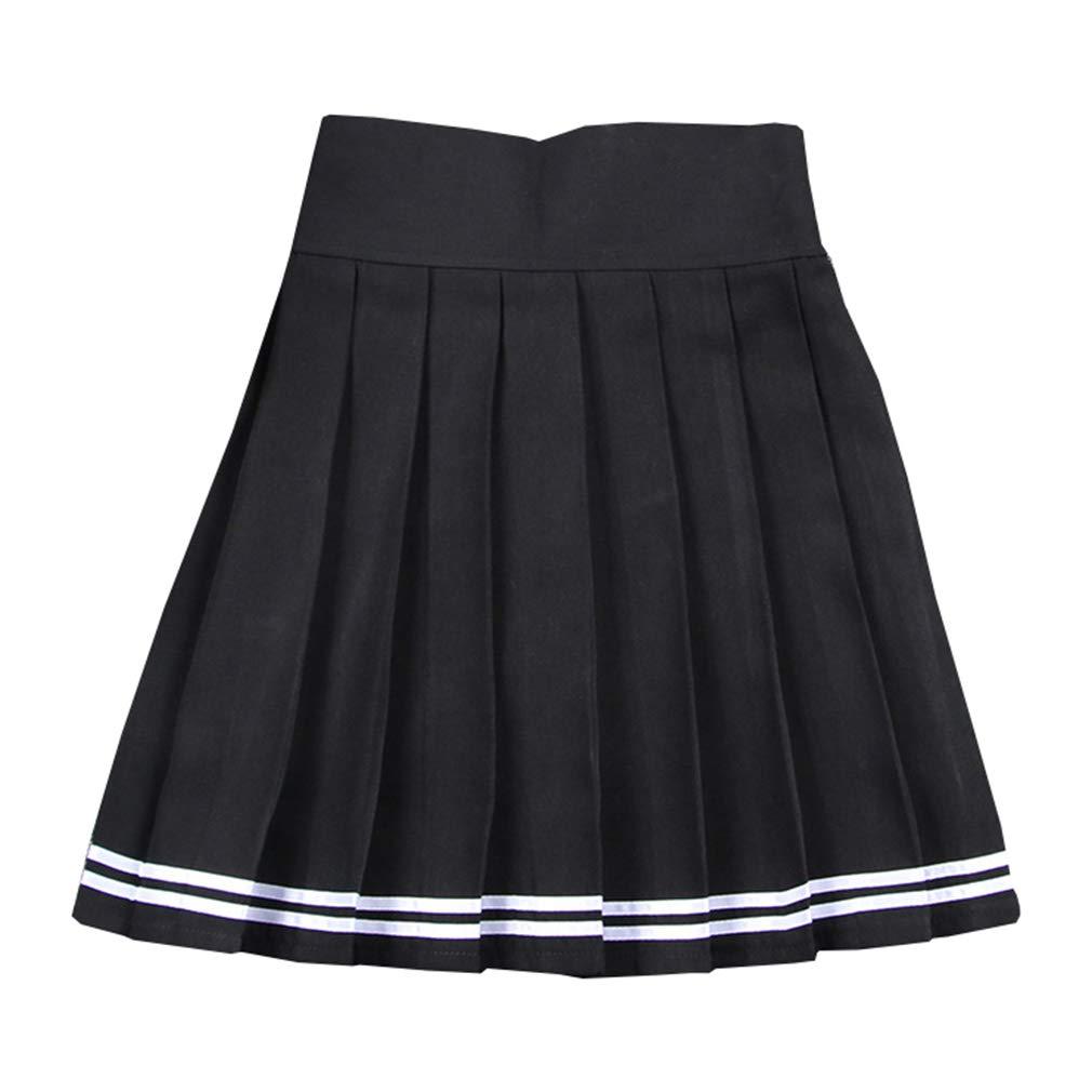 Kunfang Falda Plisada Linda Japonesa Cosplay Uniforme de Colegiala ...