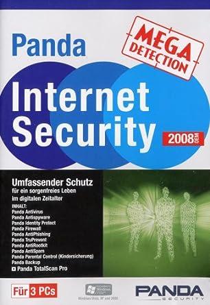 Panda Internet Security 2008 OEM (Lizenz für 3 PCs)