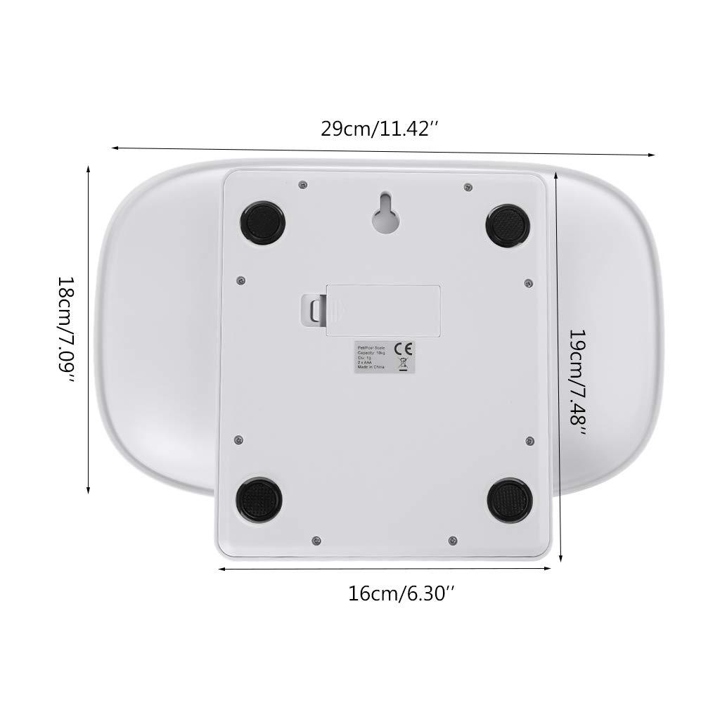 1-10 kg Vxhohdoxs Digitale Waage f/ür Babys und Kleinkinder LCD-Display