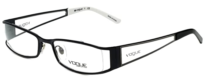 Amazon.com: Vogue Designer Eyeglass Frame VO3564-352 in Black 51mm ...