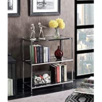 Convenience Concepts 134002 Royal Crest 3-Tier Bookcase