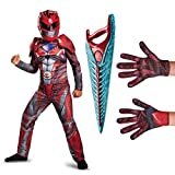 Power Rangers Movie Red Ranger Children's Classic Muscle Costume Kit