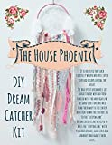 Pink DIY Dream Catcher Kit. The Perfect DIY Birthday Craft Project. The Do It Yourself Gift of 2018. Boho Decor for Baby Girl's Nursery by The House Phoenix