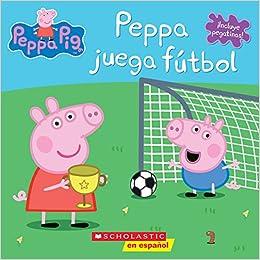 Peppa esLibros Juega PigAmazon Peppa Futbolpeppa Juega nPX0wO8k