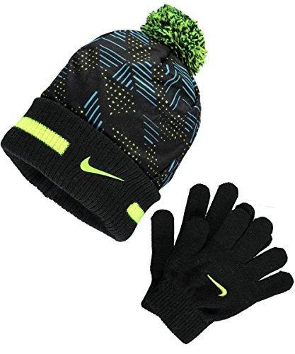 Nike Performance Knit Beanie & Gloves Set