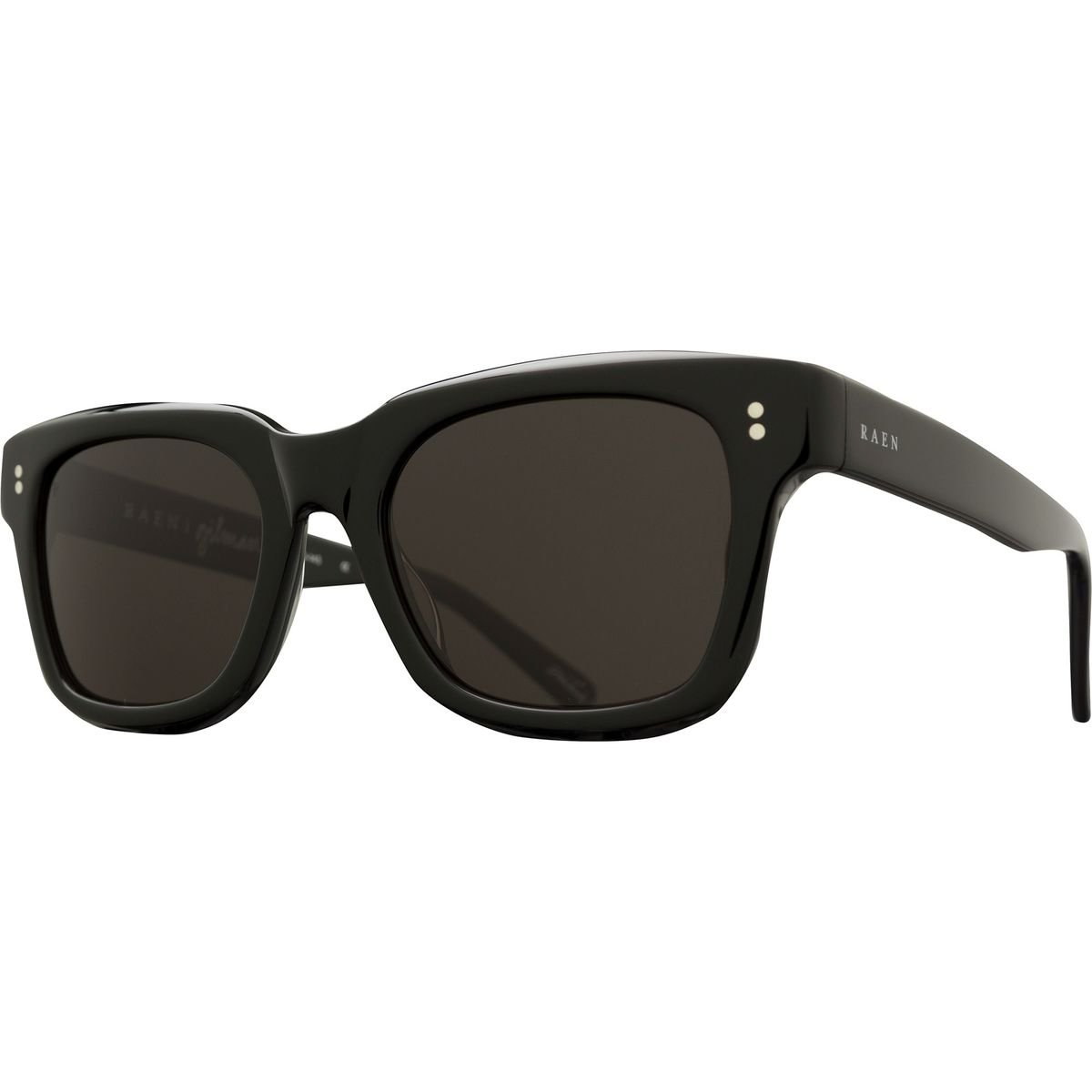 13ebff3c067 Amazon.com  RAEN Optics Unisex Gilman Black Sunglasses  Clothing